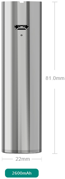 Eleaf iJust 2 Battery parameter