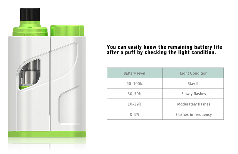 iKonn Total Have Battery Life Indication