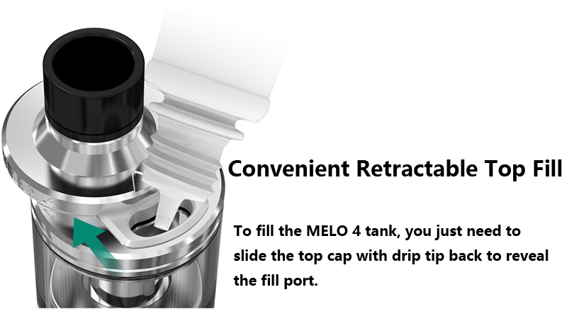Eleaf MELO 4 Tank Features Part 1