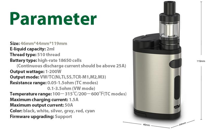 Pico Dual Full Kit Parameter