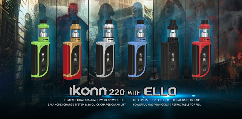 iKonn 220 with ELLO