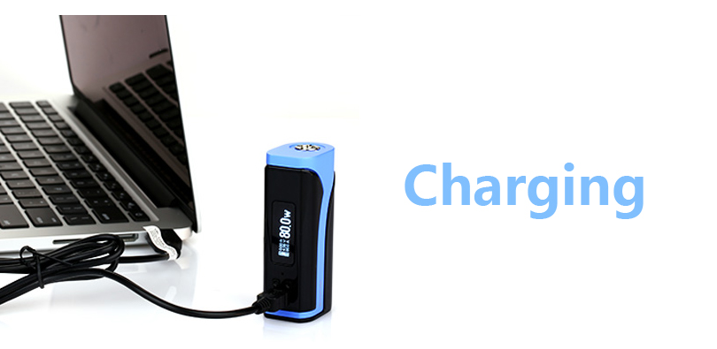 Charge for Eleaf iKuun i80 Mod
