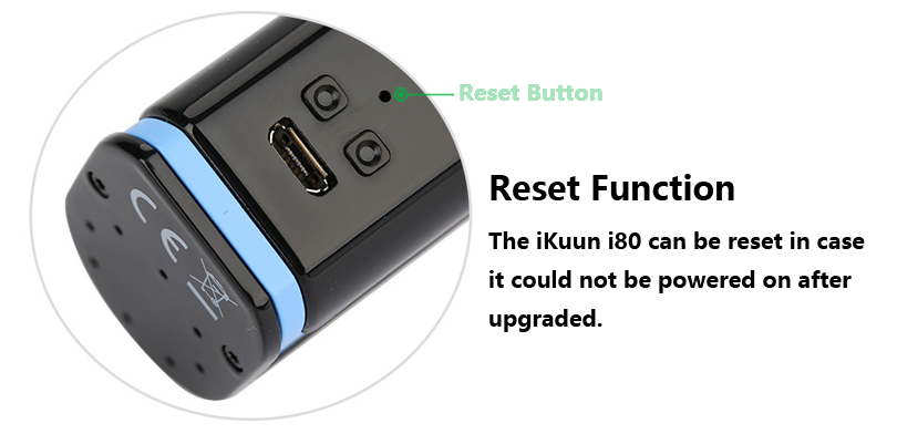 Eleaf iKuun i80 Features Part 2