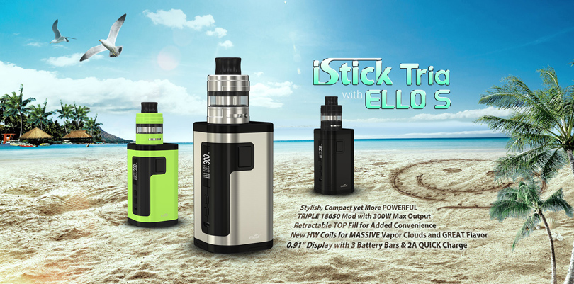 Eleaf iStick Tria Review