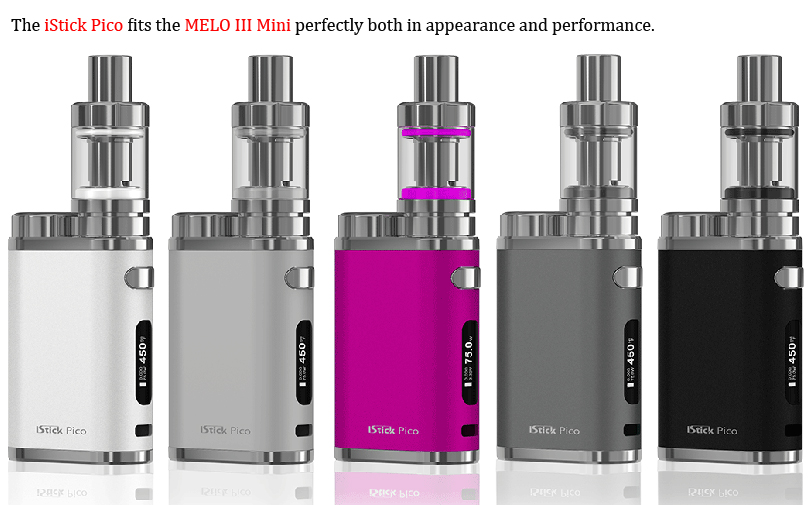 Melo III / Mini Atomizer Matching