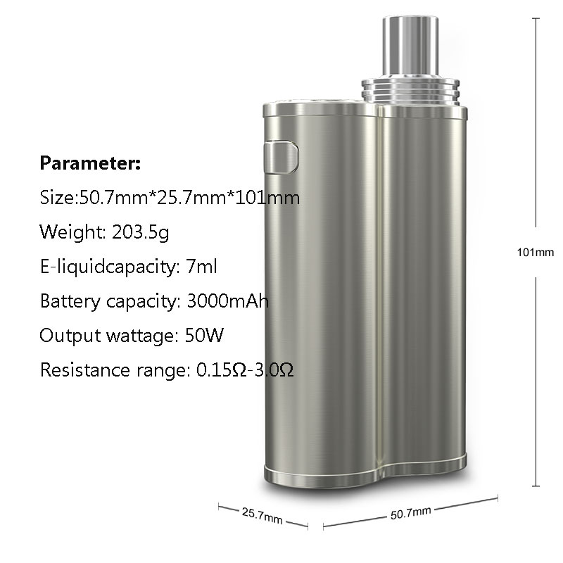 Eleaf iJust X_Parameter
