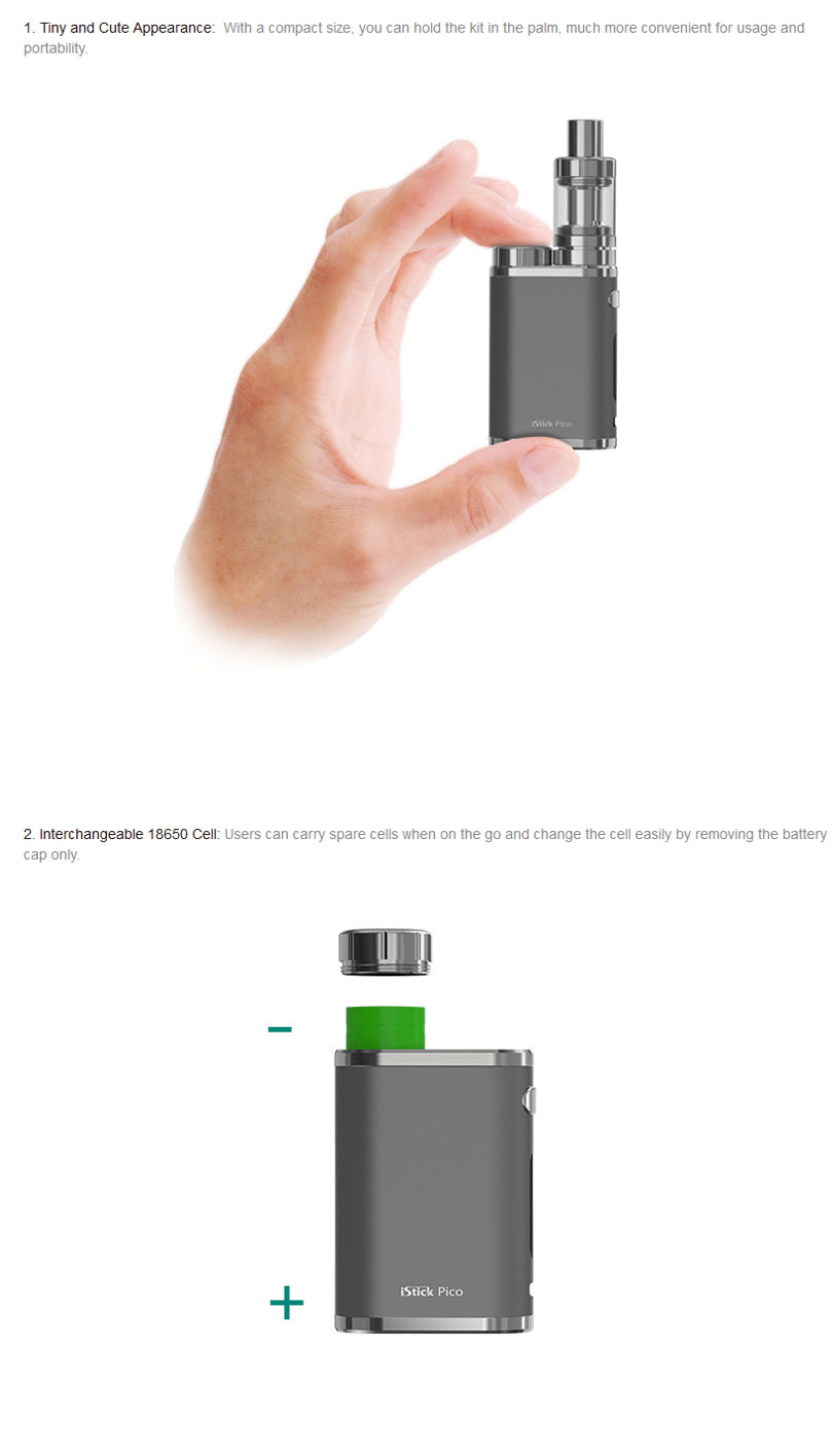 iStick Pico Kit Features