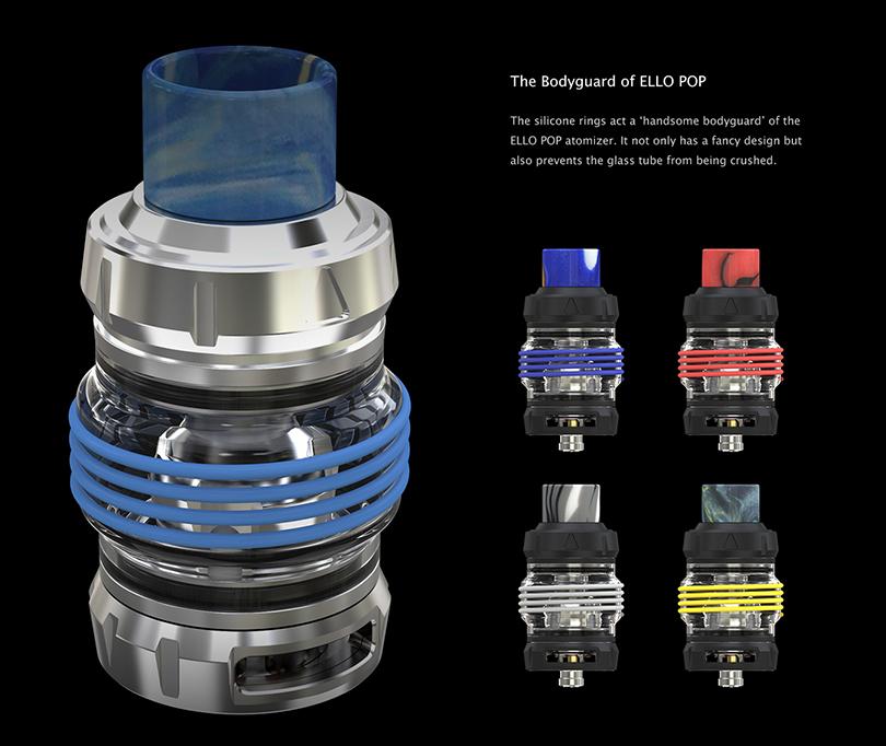 ELLO POP Atomizer Silicone Rings