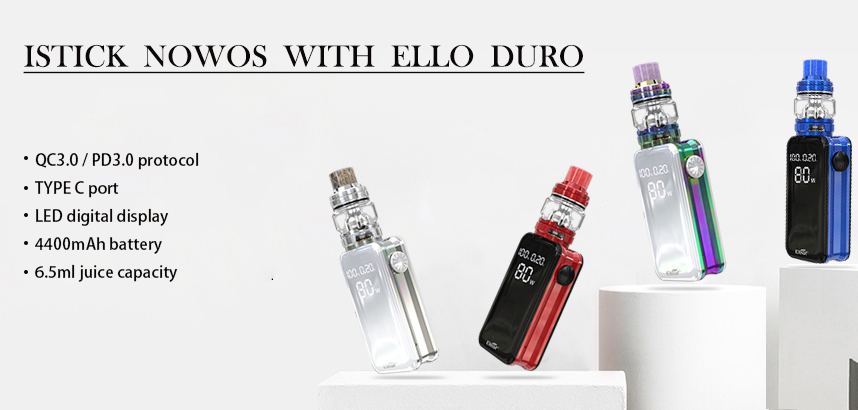 Eleaf iStick NOWOS with ELLO Kit